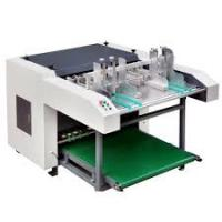 High Accuracy Automatic Grooving Machine , Food Box Making Machine Low Noise Manufactures