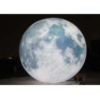 Giant Lighting Inflatable Moon Globe 6 M Dia PLL - 145 Long Lifespan Manufactures