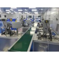 All In One Surgical N95 / KN95 Automatic Face Mask Production Line Low Failure Rate PLC Program Control Manufactures