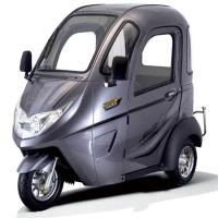 1000W Brushless 40km Travel 3 Wheel Electric Tricycle Manufactures