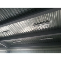 Warehouse Q235 Bolted Galvanized Carbon Steel Structure Manufactures