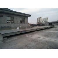 Digital Type Truck Vehicle Weighbridge Rust Proof Painting Surface 6 - 24m Length Manufactures