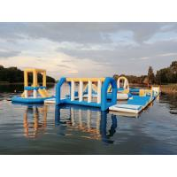 Buy cheap Hungary Inflatable Water Sport Park / Kids Inflatable Aqua Park For Lake from wholesalers