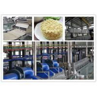 Hot Air Drying Instant Noodle Making Machine Production Line Without Oil Manufactures