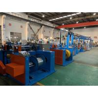 Buy cheap Automobile Wire Rewinding Machine 600M / Min Motor Control Cable Extrusion Line from wholesalers