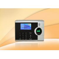 Office Fingerprint Time Attendance System With USB Port Support ID Card Reader Manufactures