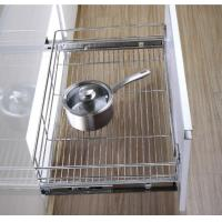 Stainless Steel Pull Out Wire Drawer Basket Modern Kitchen Decor Accessories Manufactures