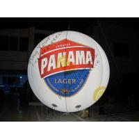 Customized Inflatable Advertising Balloon , LED Light Inflatable HeliumBalloon Manufactures