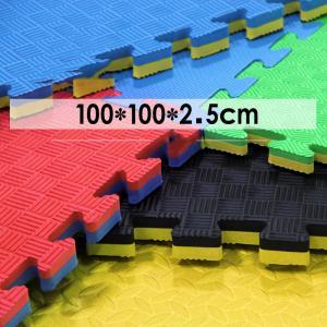 Customized Size Waterproof taekwondo floor mat EVA Tatami 2cm 3cm 4cm  thickness eva foam antislip mat Manufactures