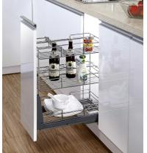 Full Extention Hook On Storage Modern Kitchen Accessories Multipurpose Drawer Basket