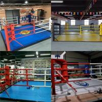 Customized Used Mini Size Canvas MMA Thai Training Competition Boxing ring Floor $1,499.00-$3,500 Manufactures