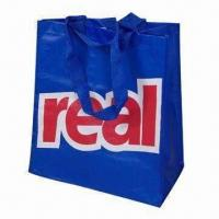 PP Woven Shopping Bag with OPP Film Lamination, Customized Designs are Accepted Manufactures