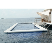 Buy cheap 1000D Double Wall Fabric Floating Water Anti-jellyfish Pool Inflatable Sea from wholesalers