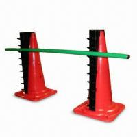 Buy cheap Adjustable Cone Hurdle Set, Inludes Post and Ladder from wholesalers