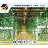 Warehouse Industrial Storage, Q235B Pallet Storage Shelves For Handling Equipment Manufactures