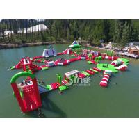 35x30m Giant Floating Island Inflatable Floating Water Park with 0.9mm Pvc Tarpaulin Manufactures