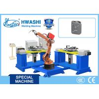 Buy cheap Hwashi HS-R6-08 6 Axis Automatic MIG/TIG Industrial Welding Robotic Arm from wholesalers