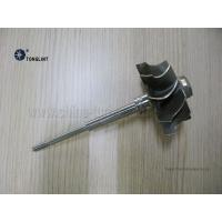 TBP4 58.3mmX74mm Turbocharger Turbine Wheel  and Shaft Turbine shaft rotor Inconel713C Material Manufactures