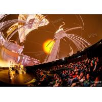 Stimulate Immersive Experience 4D Dome Movie Theater For Shopping Mall Manufactures
