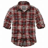China cheap A&F men shirts dress shirts wholesale accept credit card paypal on sale