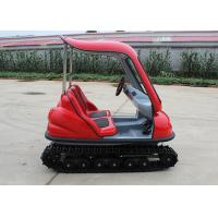 Buy cheap Max 7 Km/H Electric Tour Bus , 24 V Steering Wheel Electric Tourist Vehicles from wholesalers