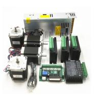 CNC Router Kit TB6600 4.0A Stepper Motor Driver + Nema23 255OZ.IN + 5 Axis Interface Board + Power Supply Manufactures