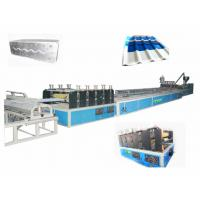 PVC Corrugated Roofing Sheets Making Machine For Twin-Wall Hollow Roofing Sheet Manufactures