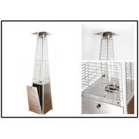 Pyramid Outdoor Standing Propane Heater , Patio Floor Heater CE Certification Manufactures