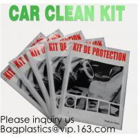 Disposable Plastic Car Cover With Elastic Band Medium Size, Kit De Protection, Car Clean Kit, Car Protection Disposable Manufactures