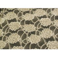 Eco-Friendly Brushed Lace Fabric Yellow  Manufactures