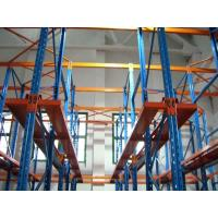 Large Scale Drive In Pallet Racking Space Saving For Warehouse Storage Manufactures