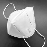 White Respirator Kn95 Dust Mask 5 Ply Non Woven Disposable Mask Manufactures