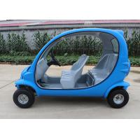 4 Passengers Electric Car Golf Cart , 4 Wheels Tourist Small Electric Cars Manufactures