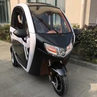 new arrival 3 wheel electric mobility scooter cabin tricycle for adult 60V1000W Manufactures