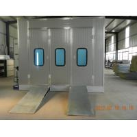Car Spray Booth for painting car body, with basement Manufactures