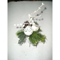 Buy cheap Soft Touch White Mini Rose Artificial Flower Garlands Decorations for Weddings from wholesalers