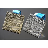 Buy cheap Championships Race Marathon Metal medals,Personalised Running Events Bespoke from wholesalers