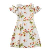 89D18028 2018 Summer New Elegant Fashion Floral Dress Manufactures