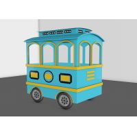 25 Seats Kids Trackless Train Amusement Ride For Theme And Amusement Parks Manufactures