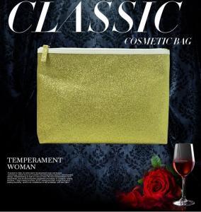 Fashion Sense Bag, Classic Cosmetic Bag, Space Utilization Travel Toiletry Organizer zipper closure Manufactures