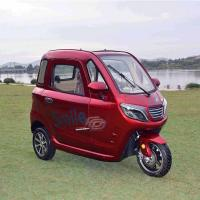 Permanent Magnet DC 1500W Passenger Electric Tricycle Manufactures