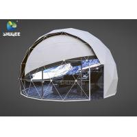 Shopping Mall Full Dome Projection Cinema With 14 Chairs Large Capacity 96 People / H Manufactures