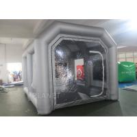 Custom Small Portable Mobile Inflatable Spray Booth For Car Maintaining Manufactures