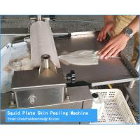 Quality Squid Skinning machine China Manufacturer for sale