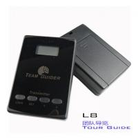 cheap L8 black Tour Guide Audio System Transmitter And Receiver For Team Traveling Manufactures