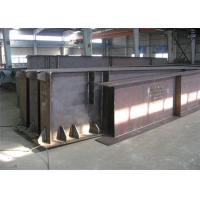 Hot Rolled / Welded Galvanized Steel Beams H Section Steel Structure Girder Column Manufactures