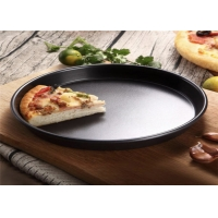 Black 12 Inch 305x279x19mm Pizza Making Tray Manufactures