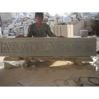 white marble carved panel for indoor Manufactures
