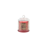 Luxury Christmas Oil Fragrance Red Color Soy Wax Scented Candle Manufactures
