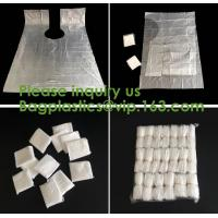 compostable kitchen apron Biodegradable Gloves Sleeves PLA/PBAT/Corn Starch Compostable Bag singlet bags, vest carrier Manufactures